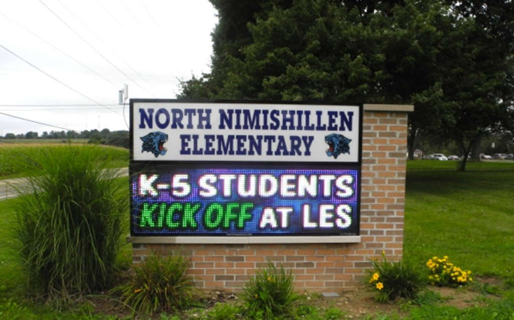North nimishillen elementary School LED Signs